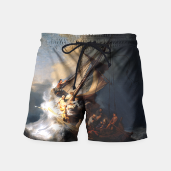 THE STORM ON THE SEA OF GALiLEE BY REMBRANDT Swim Shorts thumbnail image