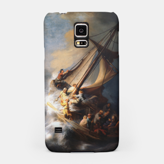 THE STORM ON THE SEA OF GALiLEE BY REMBRANDT Samsung Case thumbnail image