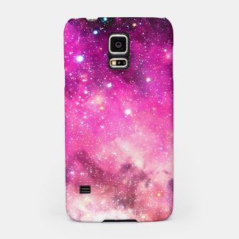 Miniaturka Pink Space Samsung Case, Live Heroes