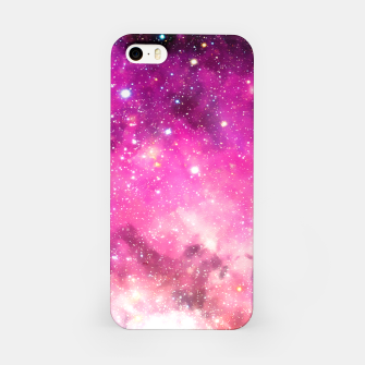 Miniatur Pink Space iPhone Case, Live Heroes
