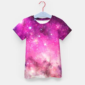 Thumbnail image of Pink Space Kid's T-shirt, Live Heroes