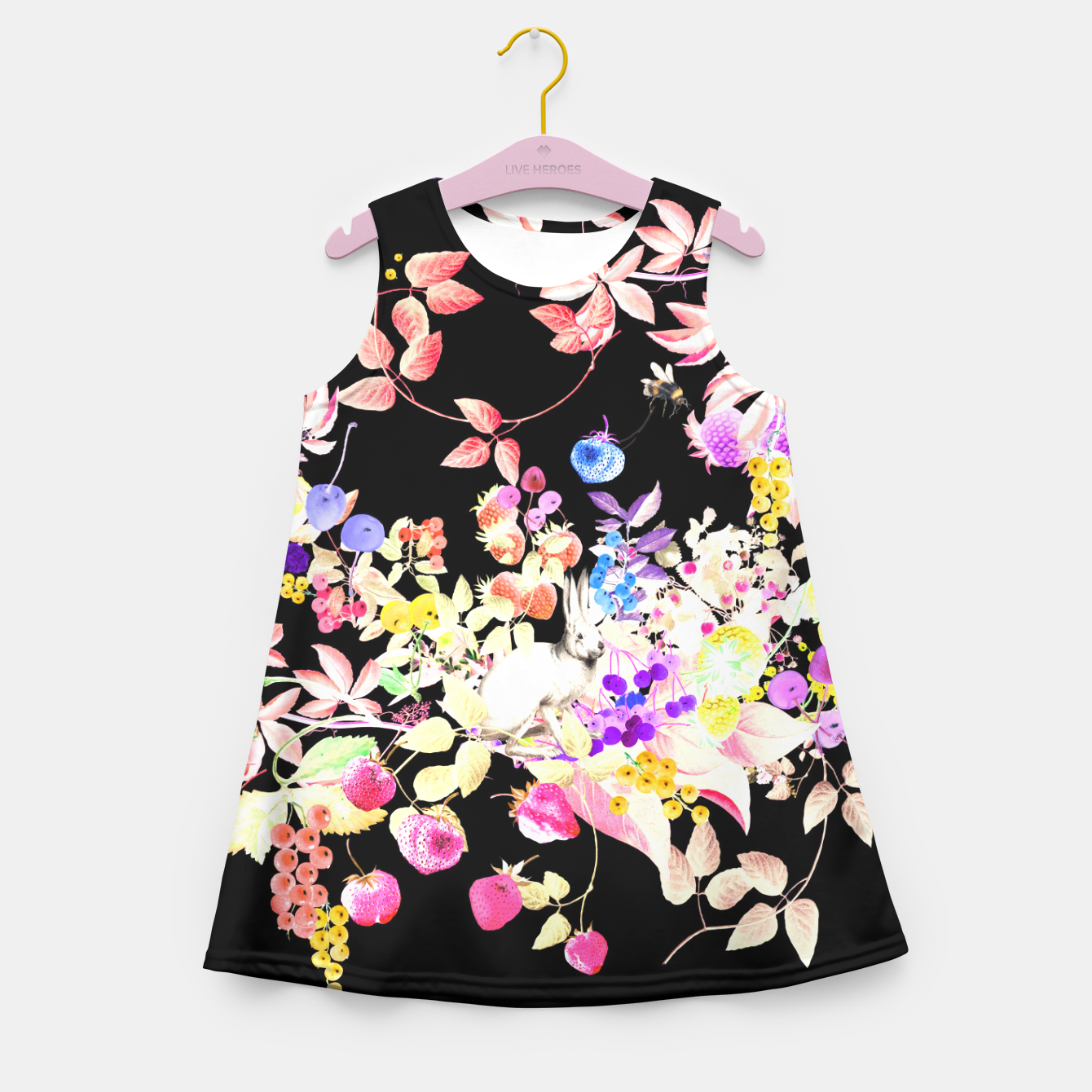 Image of Soft Bunnies Kid Summer Dress - Live Heroes