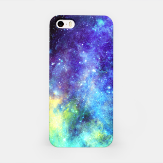 Blue Nebula iPhone Case obraz miniatury