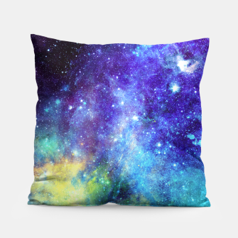 Blue Nebula Pillow obraz miniatury