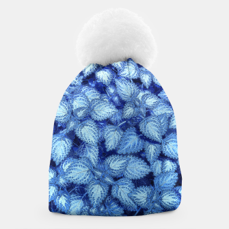 Lovely Leaves, in Blue Beanie thumbnail image