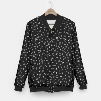 Thumbnail image of Seed black Baseball Jacket, Live Heroes