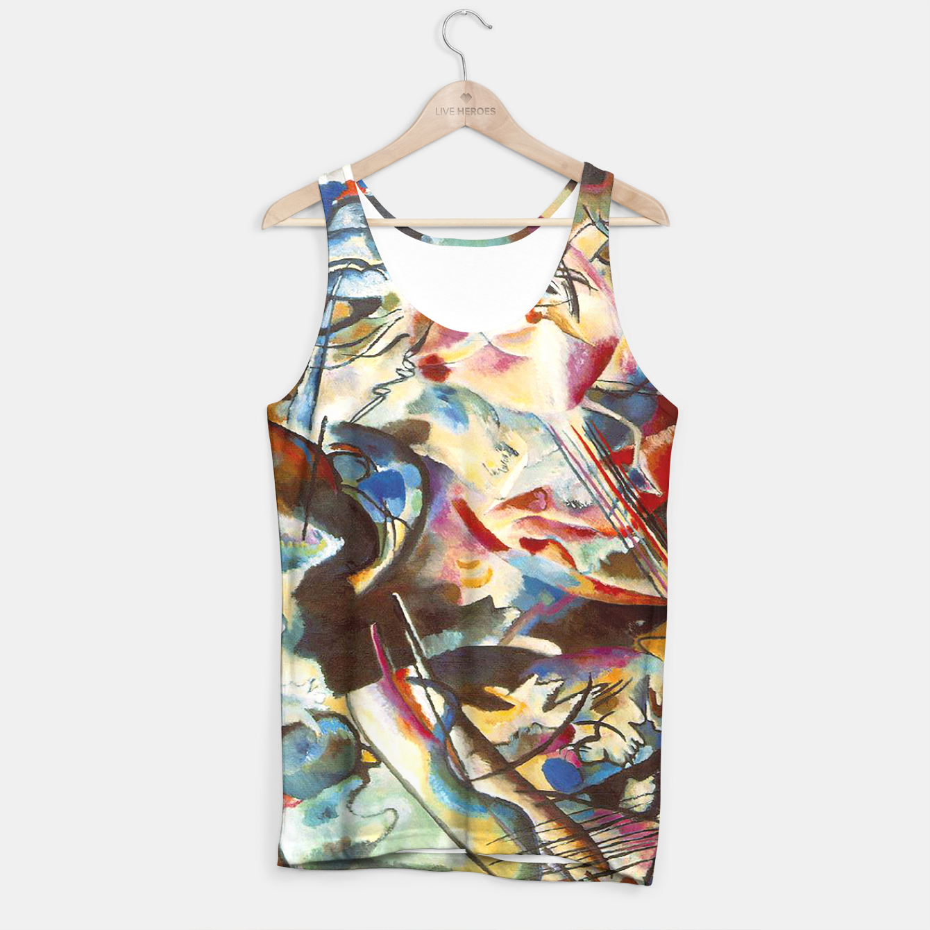 Image of COMPOSiTiON SiX BY VASSiLY KANDiNKSY Tank Top - Live Heroes