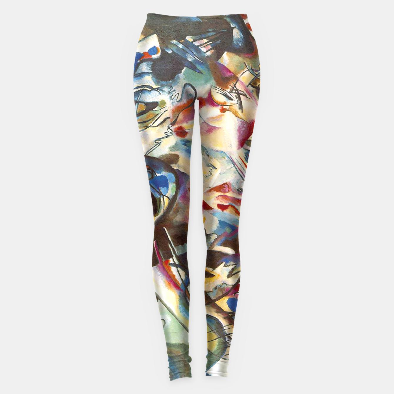 Image of COMPOSiTiON SiX BY VASSiLY KANDiNKSY Leggings - Live Heroes