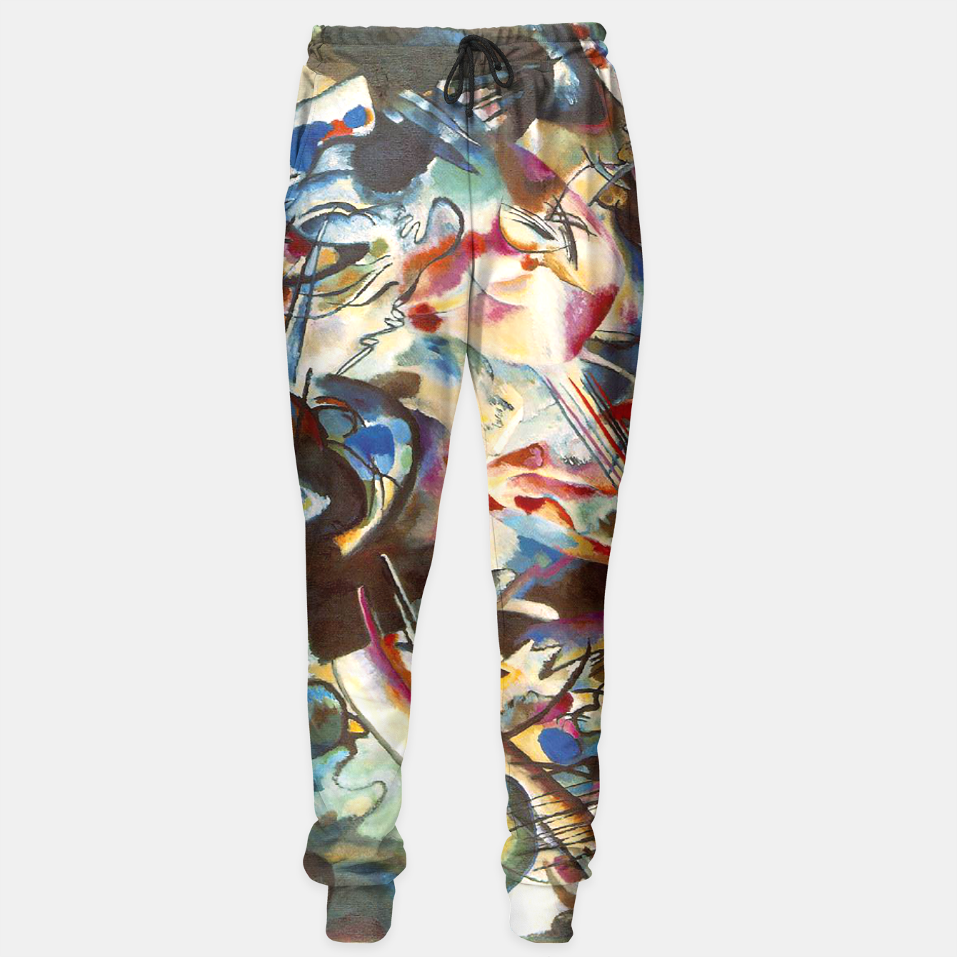 Image of COMPOSiTiON SiX BY VASSiLY KANDiNKSY Sweatpants - Live Heroes