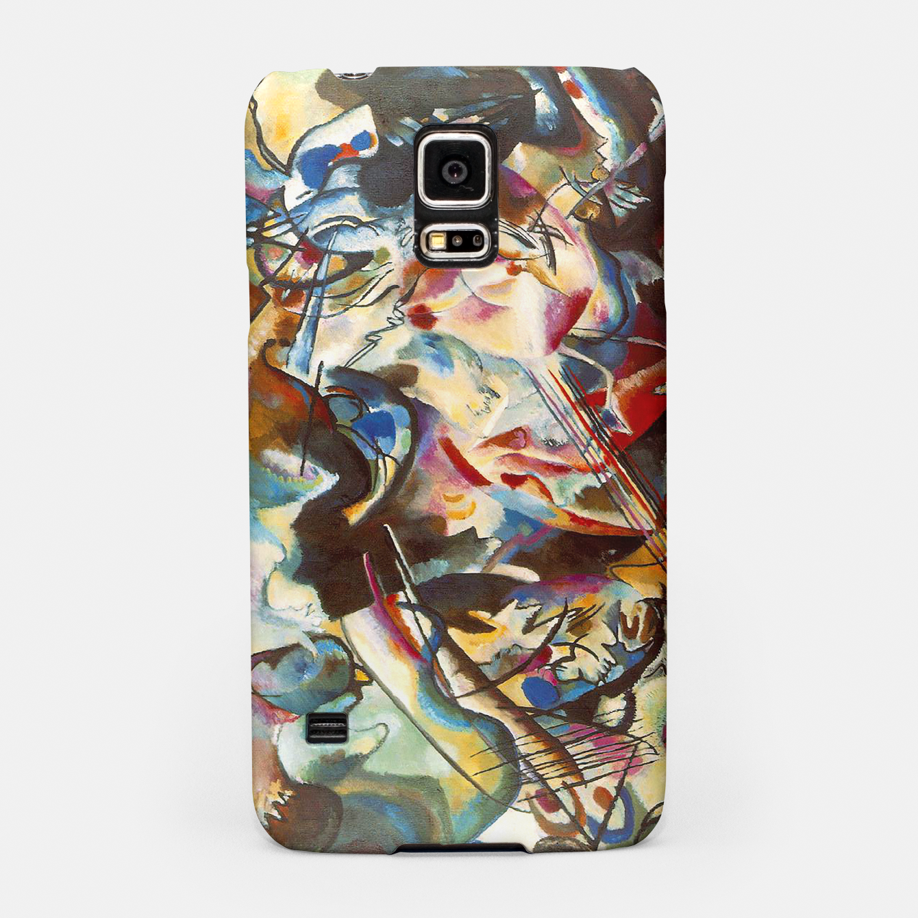 Image of COMPOSiTiON SiX BY VASSiLY KANDiNKSY Samsung Case - Live Heroes