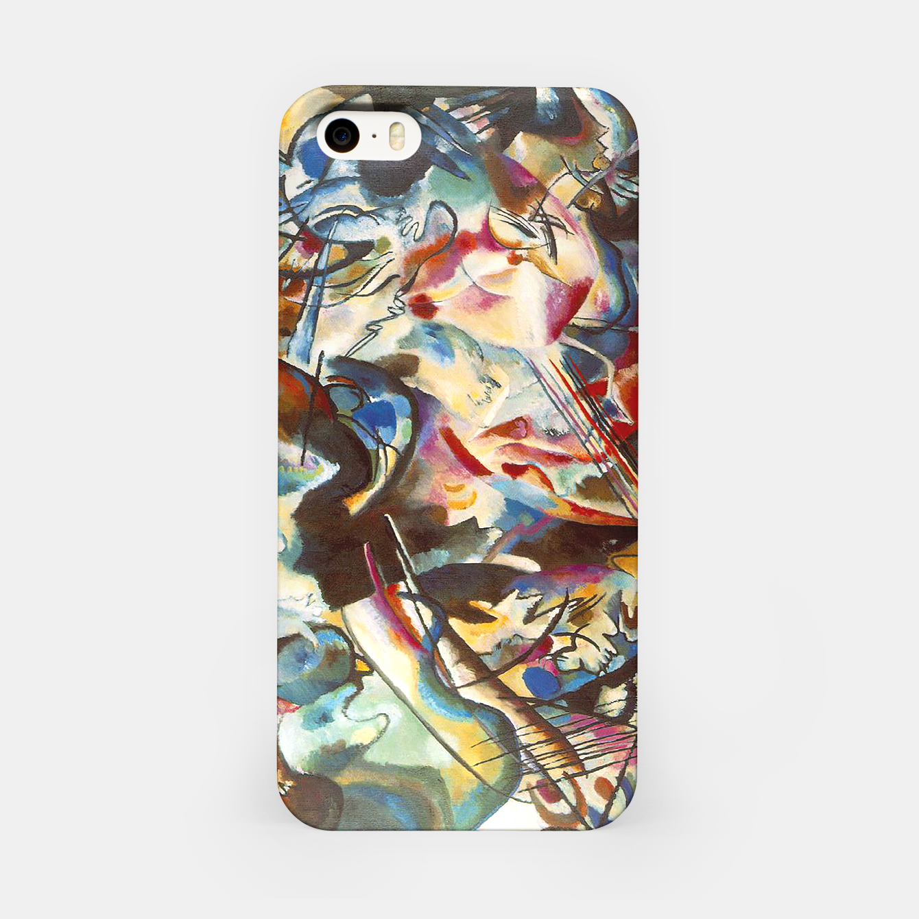 Image of COMPOSiTiON SiX BY VASSiLY KANDiNKSY iPhone Case - Live Heroes