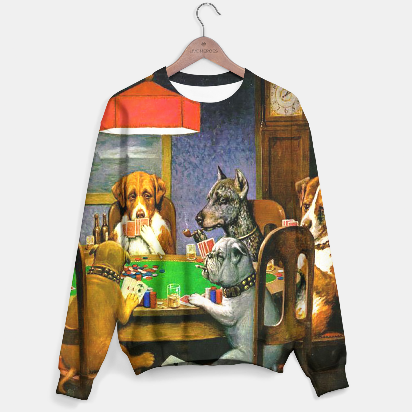 Image of A FRiEND iN NEED BY COOLiDGE Sweater - Live Heroes