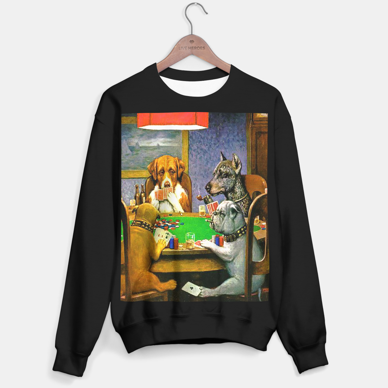 Image of A FRiEND iN NEED BY COOLiDGE Sweater regular - Live Heroes