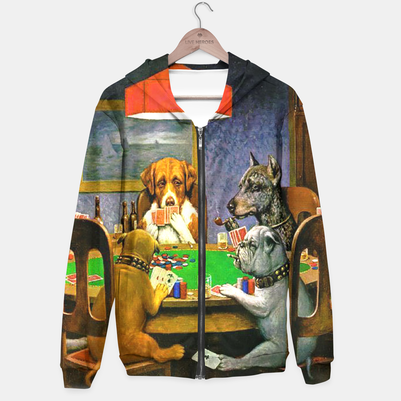 Image of A FRiEND iN NEED BY COOLiDGE Hoodie - Live Heroes