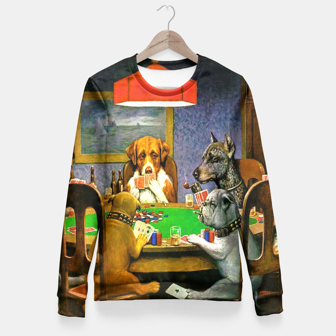 Image of A FRiEND iN NEED BY COOLiDGE Fitted Waist Sweater - Live Heroes
