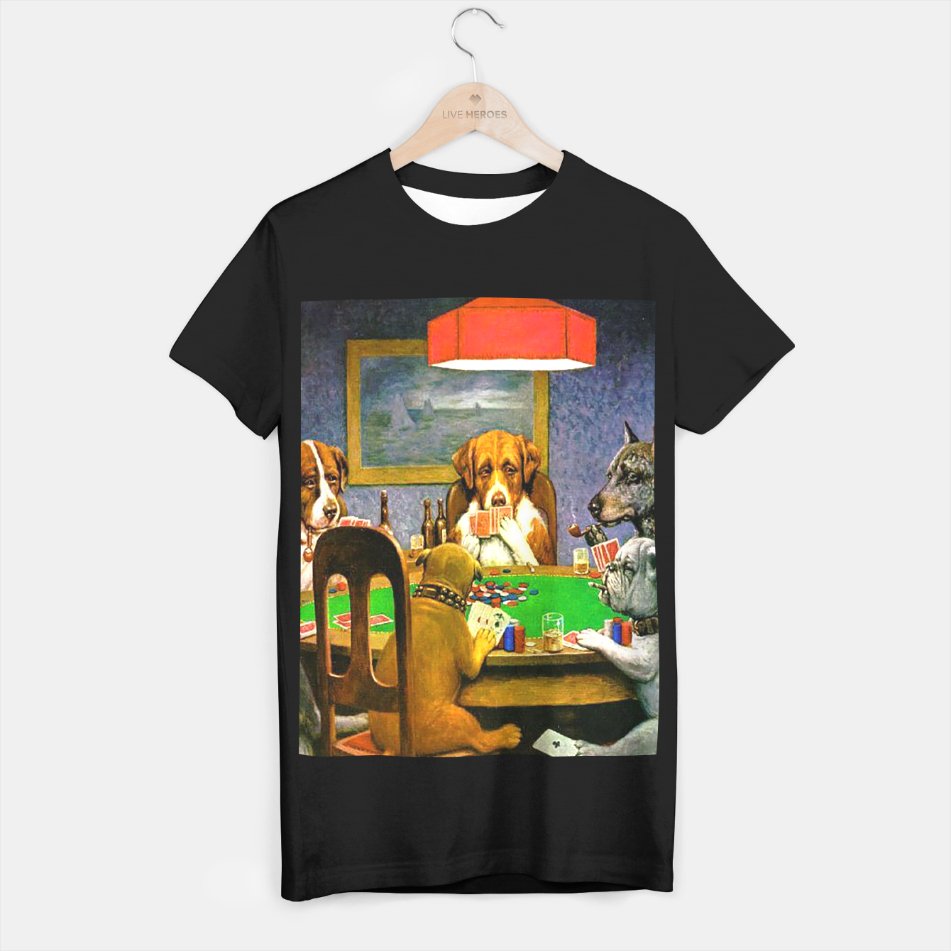 Image of A FRiEND iN NEED BY COOLiDGE T-shirt regular - Live Heroes