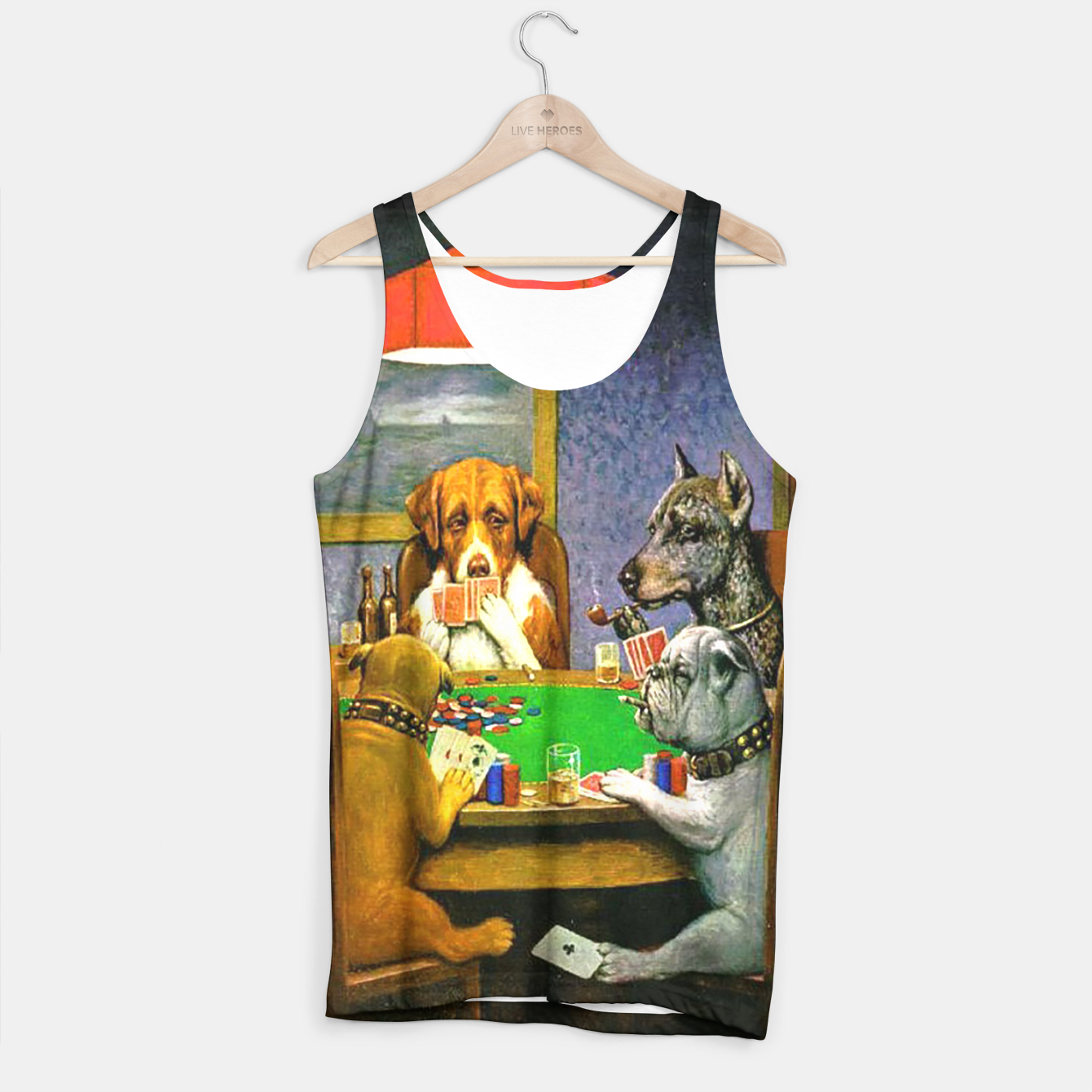 Image of A FRiEND iN NEED BY COOLiDGE Tank Top - Live Heroes