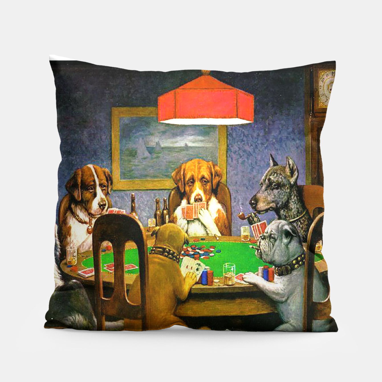 Image of A FRiEND iN NEED BY COOLiDGE Pillow - Live Heroes
