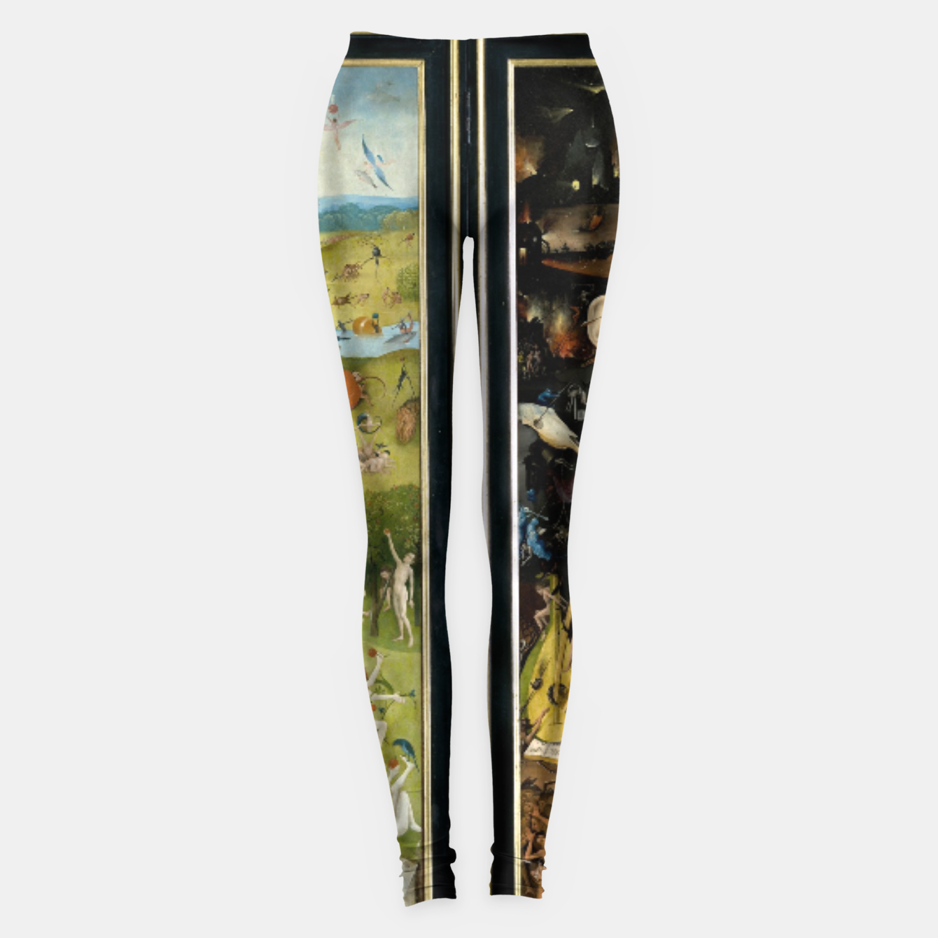 Image of THE GARDEN OF EARTHLY DELiGHTS BY HiERONYMUS BOSCH Leggings - Live Heroes