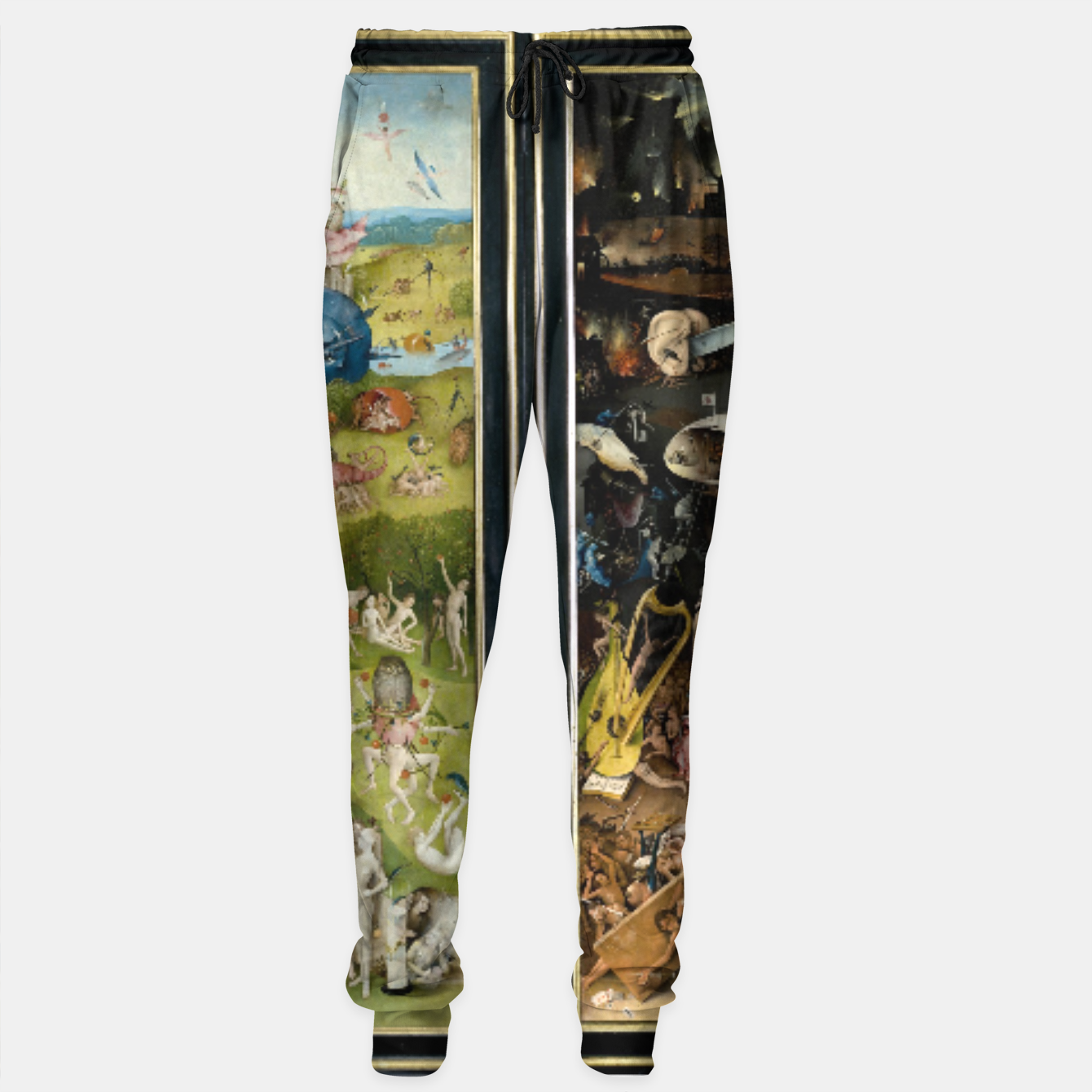 Image of THE GARDEN OF EARTHLY DELiGHTS BY HiERONYMUS BOSCH Sweatpants - Live Heroes
