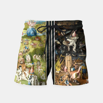Thumbnail image of THE GARDEN OF EARTHLY DELiGHTS BY HiERONYMUS BOSCH Swim Shorts, Live Heroes