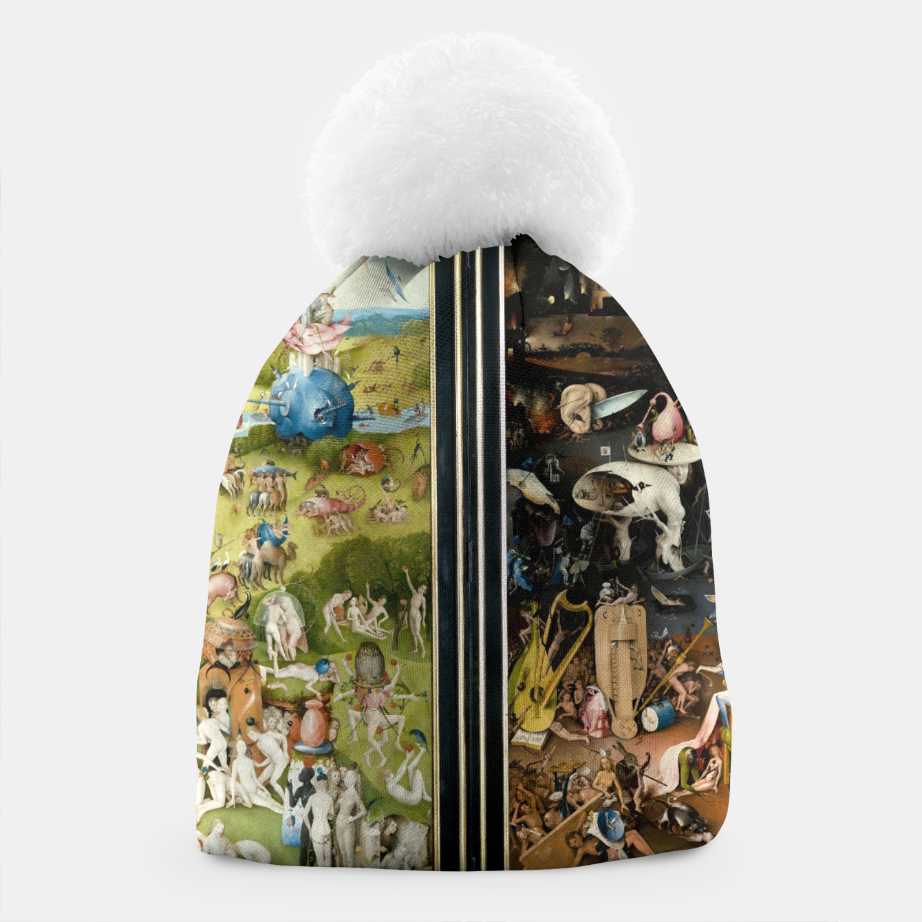Image of THE GARDEN OF EARTHLY DELiGHTS BY HiERONYMUS BOSCH Beanie - Live Heroes