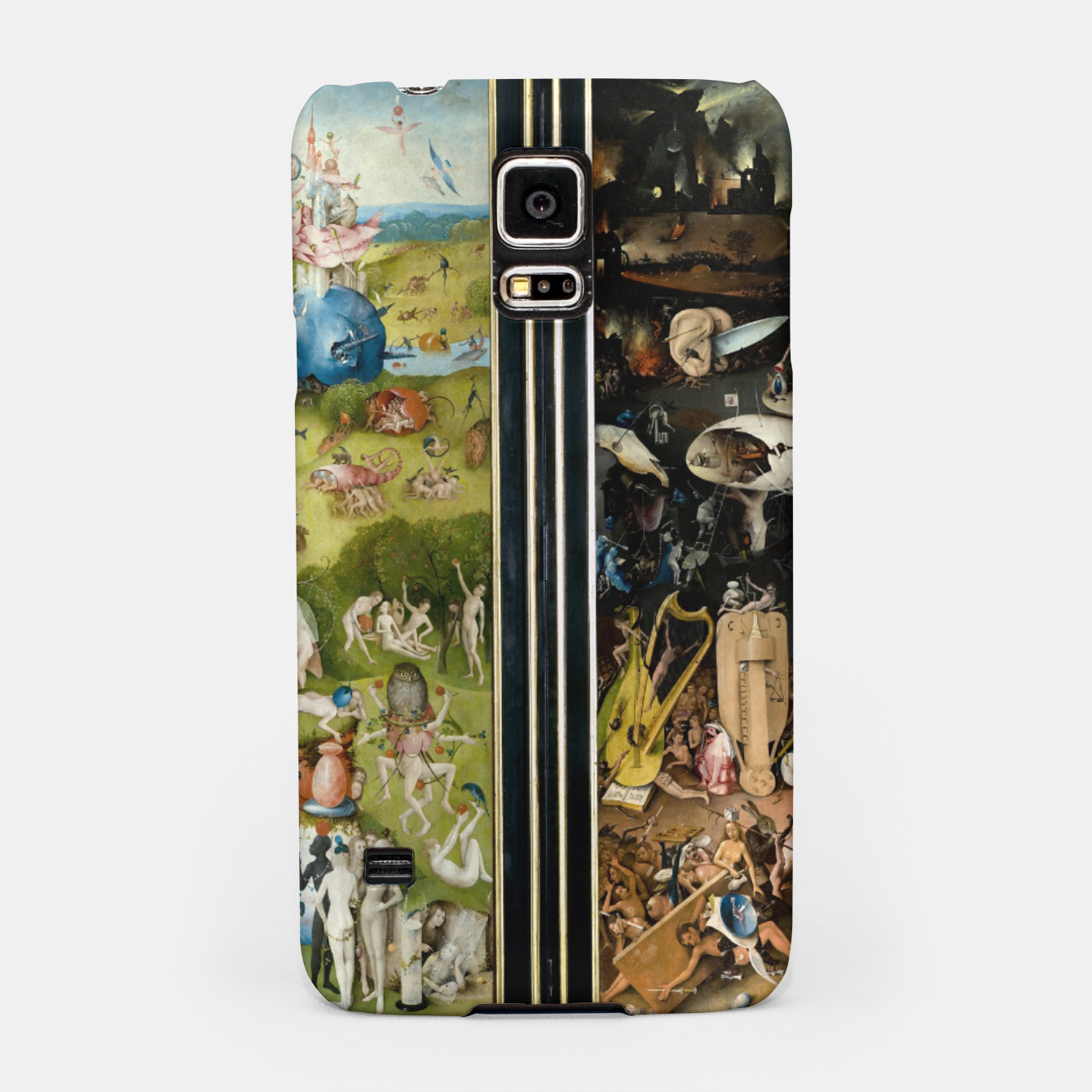 Image of THE GARDEN OF EARTHLY DELiGHTS BY HiERONYMUS BOSCH Samsung Case - Live Heroes