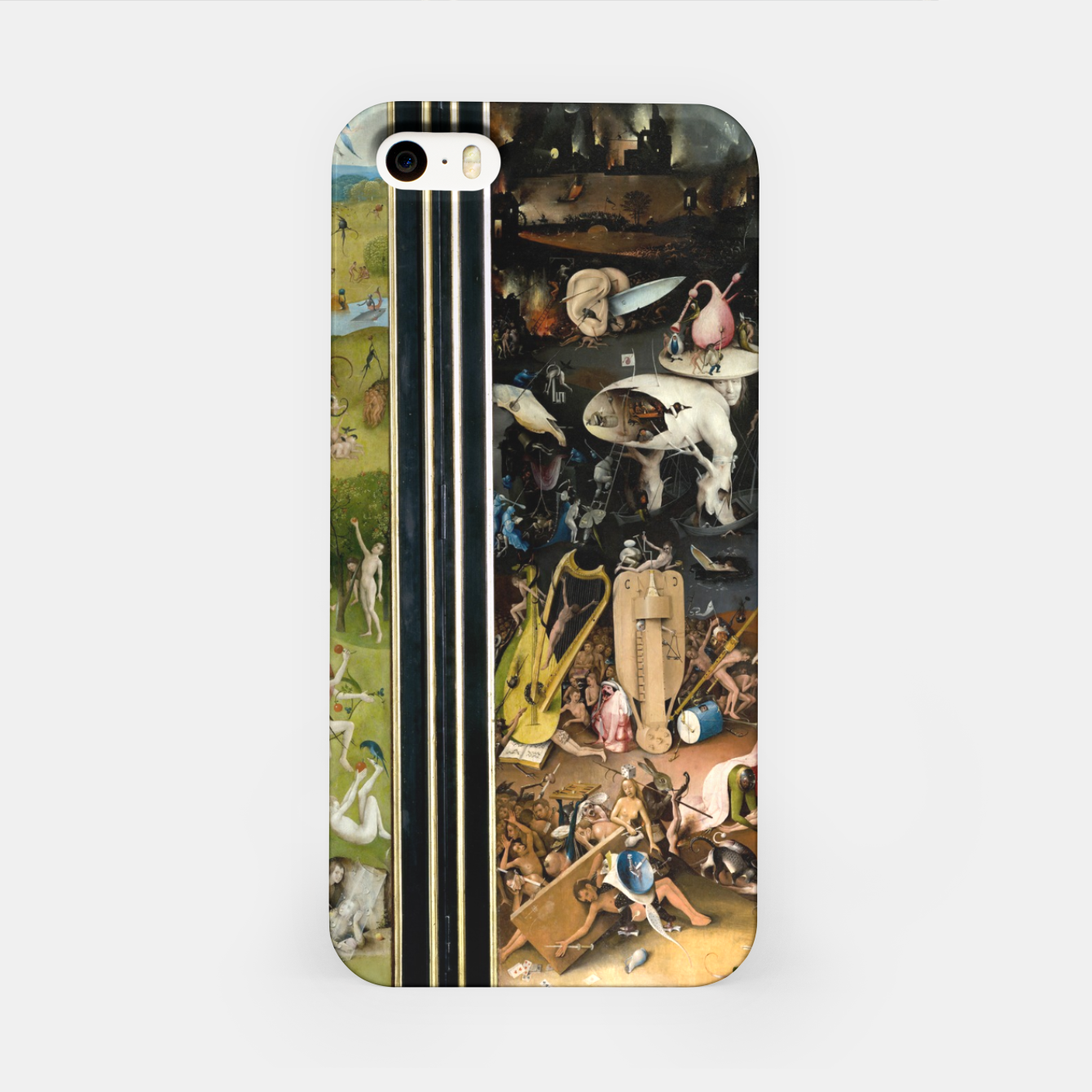 Image of THE GARDEN OF EARTHLY DELiGHTS BY HiERONYMUS BOSCH iPhone Case - Live Heroes
