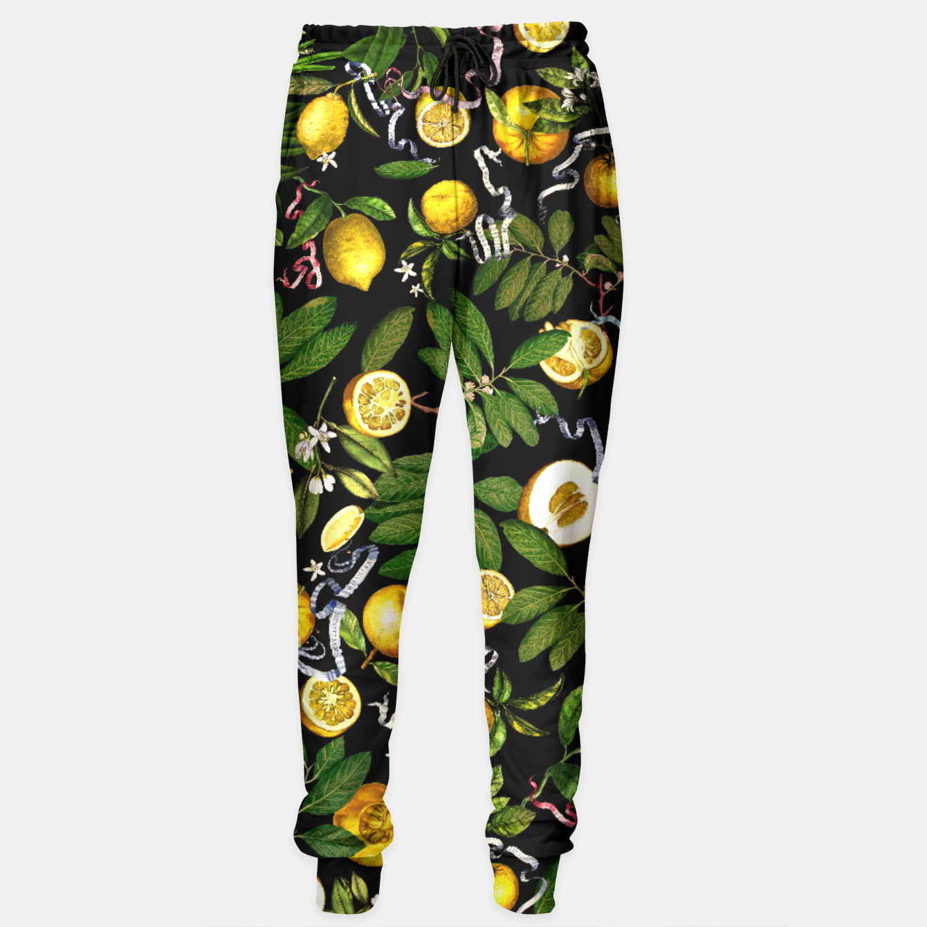 Image of Lemon Tree black Sweatpants - Live Heroes