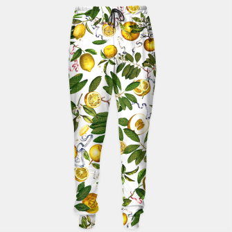 Thumbnail image of Lemon Tree white Sweatpants, Live Heroes