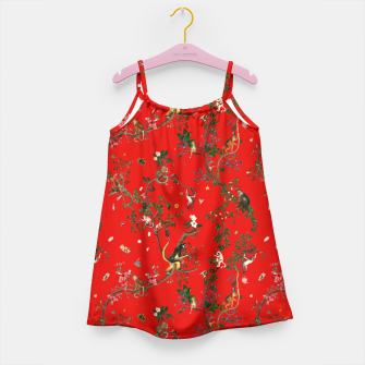 Thumbnail image of Monkey World Red Kid Dress, Live Heroes
