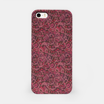 Thumbnail image of Pink Flowers, Blush Curves iPhone Case, Live Heroes