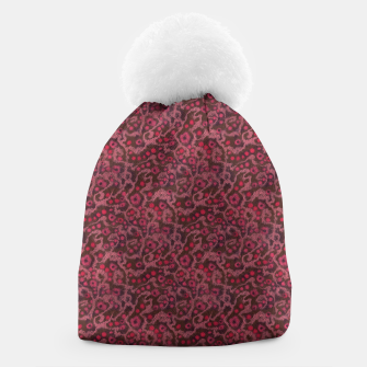 Thumbnail image of Pink Flowers, Blush Curves Beanie, Live Heroes