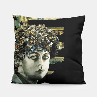 Thumbnail image of BJA punk rock dollar stars and stripes black edition L Pillow, Live Heroes