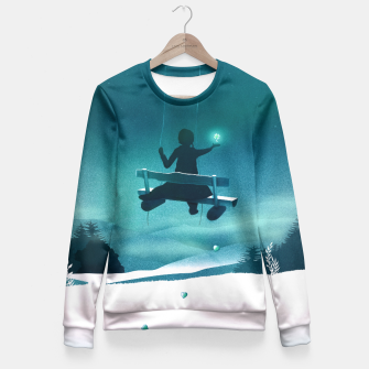 Thumbnail image of Lucky You Taillierte Sweatshirt, Live Heroes