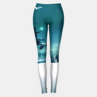 Thumbnail image of Lucky You Leggings, Live Heroes