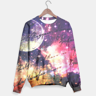 Letter from outer space Sweater thumbnail image