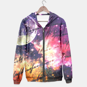 Letter from outer space Hoodie thumbnail image