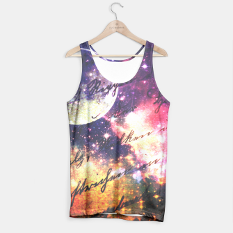 Miniaturka Letter from outer space Tank Top, Live Heroes