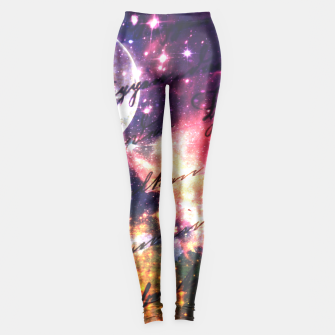 Letter from outer space Leggings thumbnail image