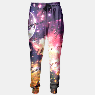 Letter from outer space Sweatpants thumbnail image