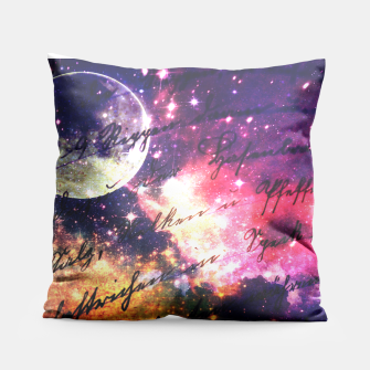Letter from outer space Pillow thumbnail image
