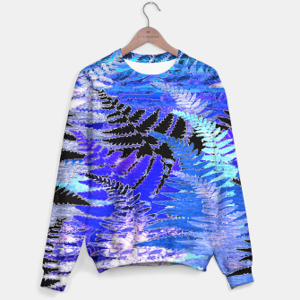 Ferns, Moonlight Blue Sweater thumbnail image