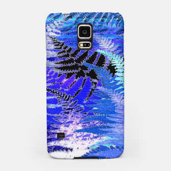 Thumbnail image of Ferns, Moonlight Blue Samsung Case, Live Heroes