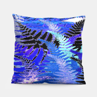 Thumbnail image of Ferns, Moonlight Blue Pillow, Live Heroes