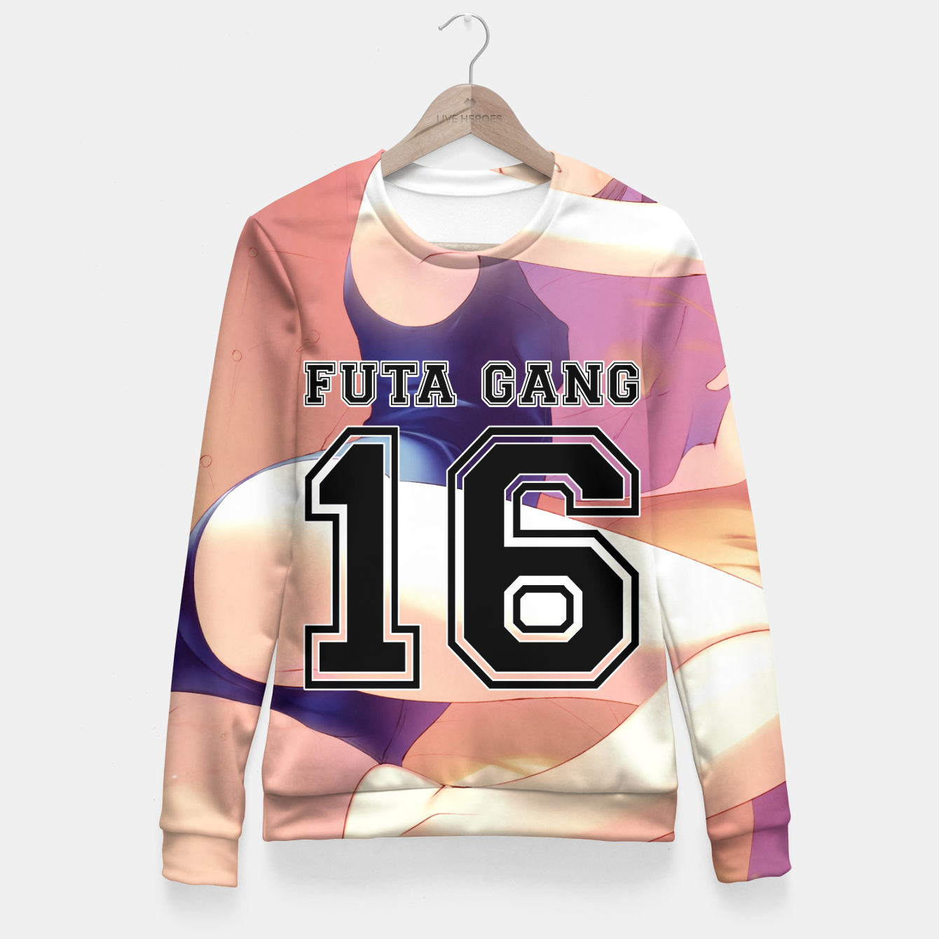 Futa Pictures pertaining to futa gang fitted waist sweater, live heroes