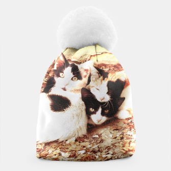 Miniaturka Three Kitties Beanie, Live Heroes