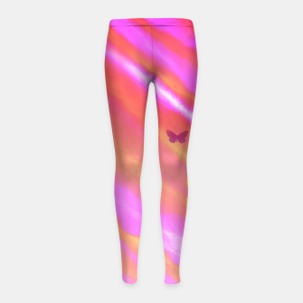 Thumbnail image of Sunshine Wings Girl's Leggings, Live Heroes