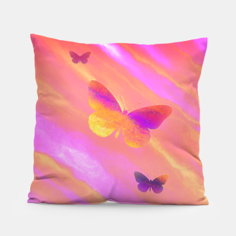 Thumbnail image of Sunshine Wings Pillow, Live Heroes