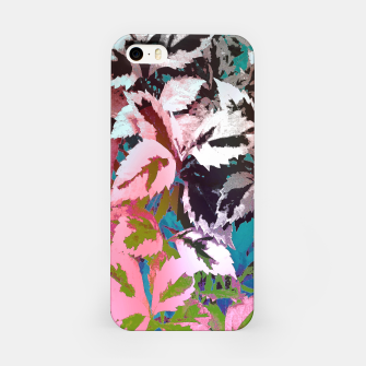 More Lovely Leaves iPhone Case thumbnail image